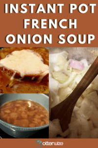 Gourmet Instant Pot French Onion Soup