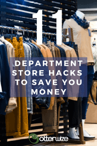 11 department store hacks to save you money