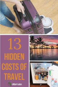13 hidden costs of travel
